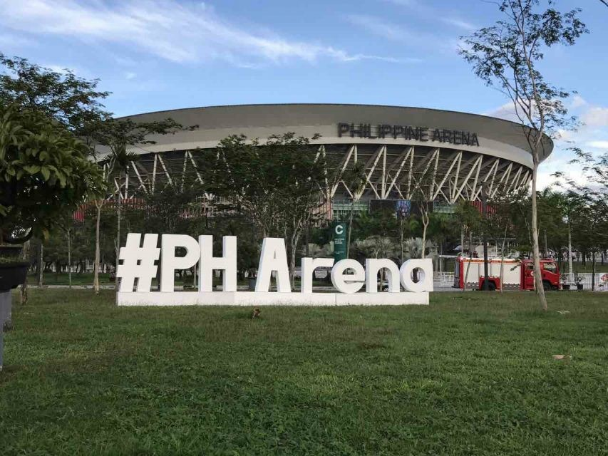 The magnificent 55,000 seater Philippine Arena in Bocaue, Bulacan has become a tourist attraction for the Philippines. (Photo courtesy Philippine Arena official facebook page)