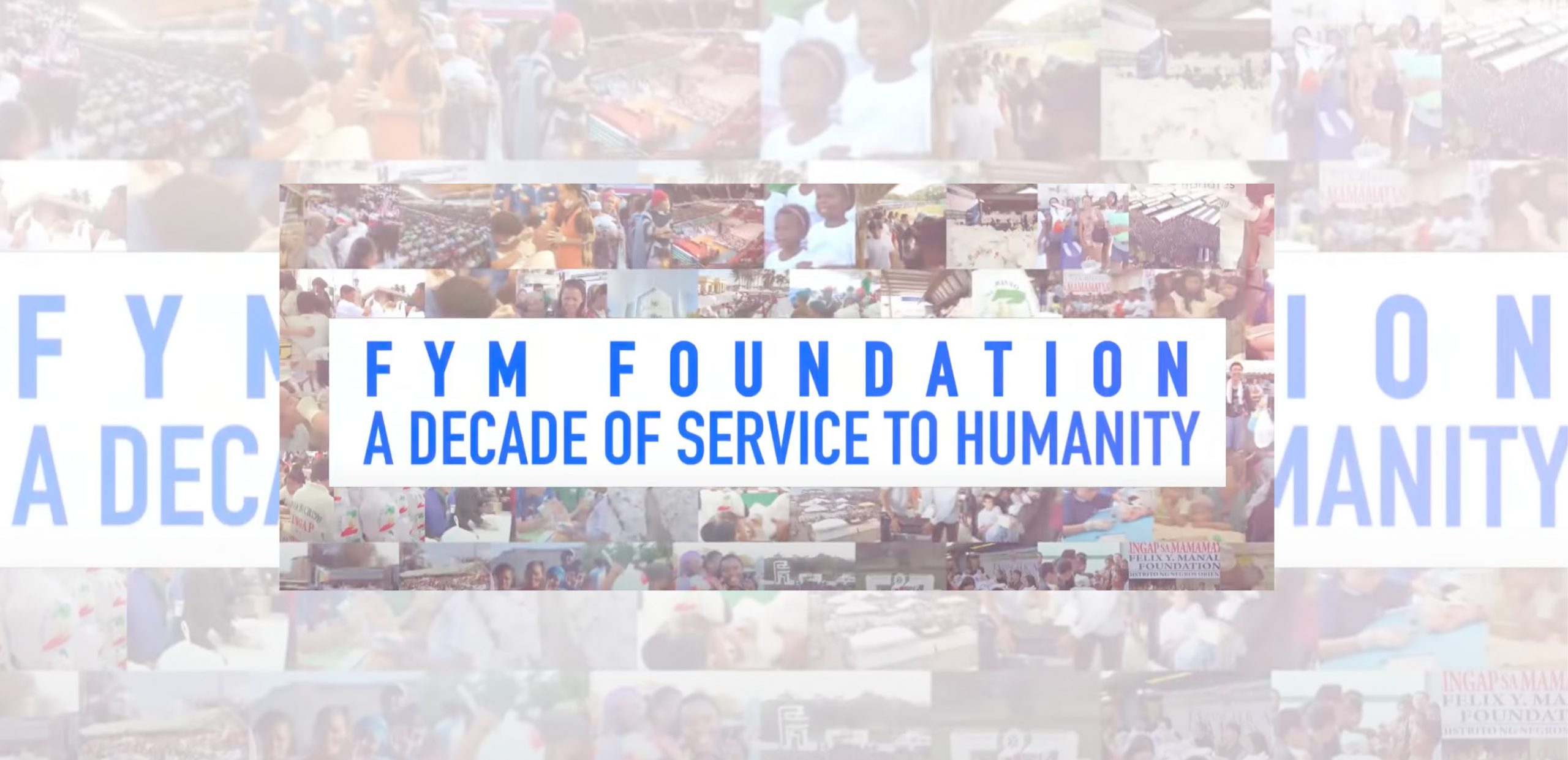 FYM Foundation: A Decade of Service to Humanity | Aid to Humanity